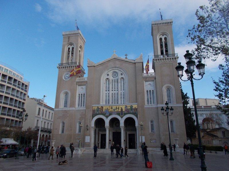 Athens Cathedral, Metropolis.