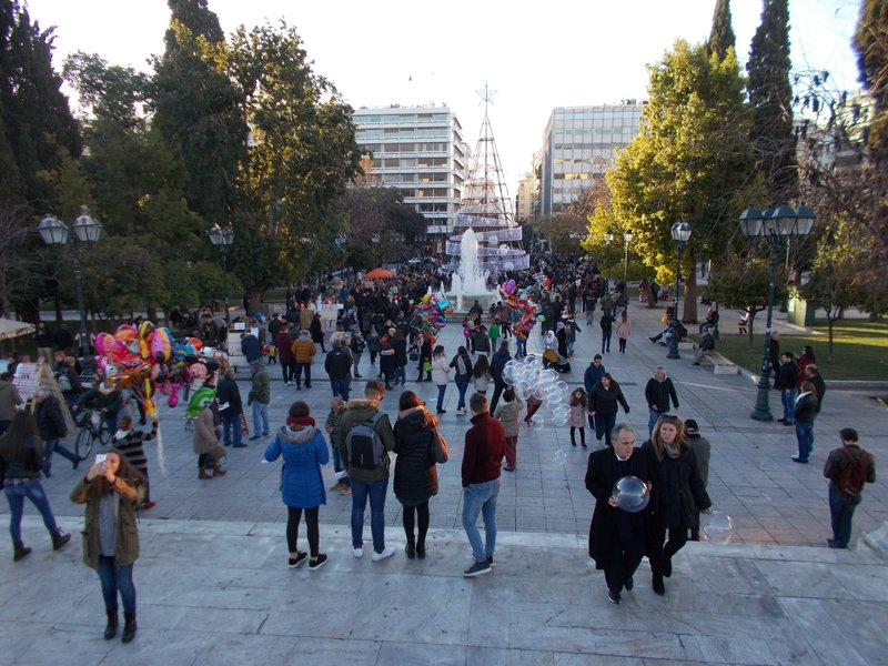Syntagma Square.