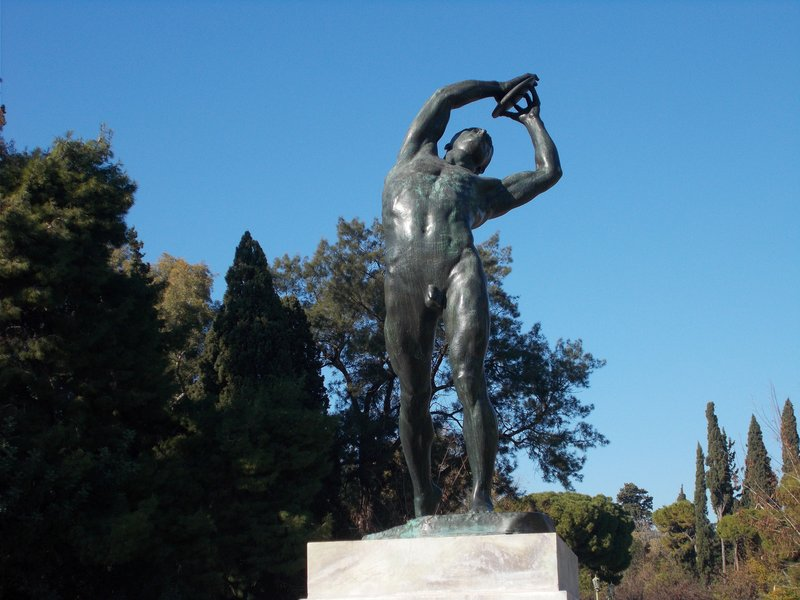 The discus thrower.