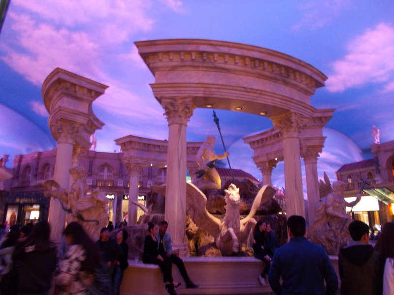 Forum at Caesar's Palace.