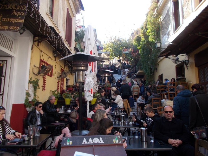 Restaurant Street, Plaka.