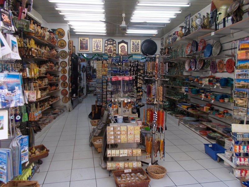 Souvenir shop, Plaka.
