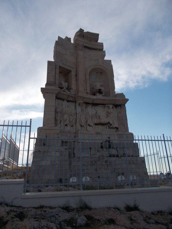 Philopappos Monument.