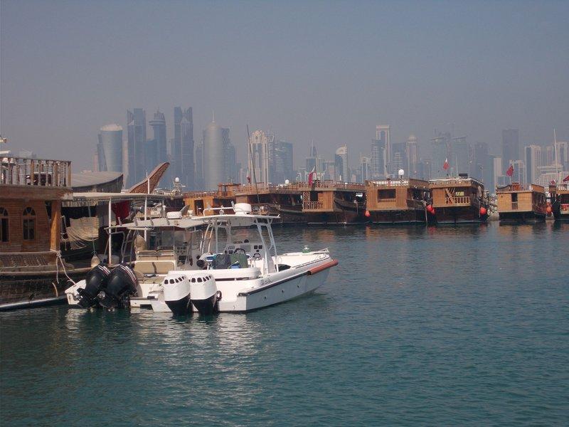Doha Corniche.