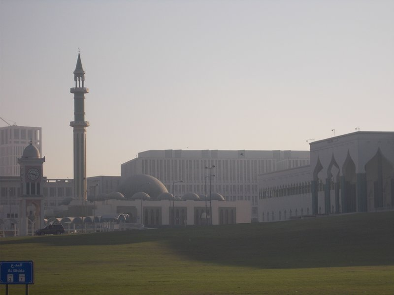 Parliament, Clock Tower and Mosque.