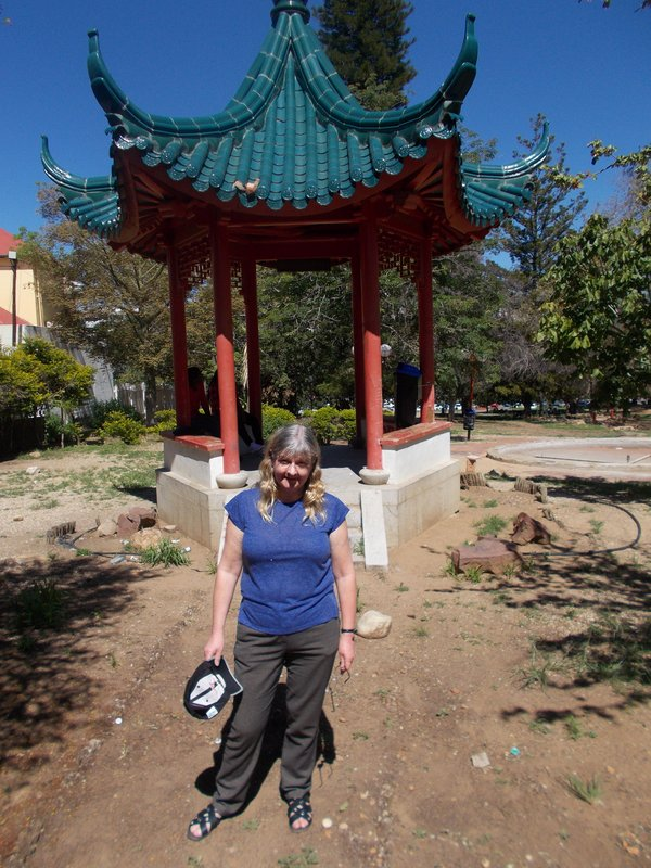 Me at the Chinese Pagoda, Zoo Park.