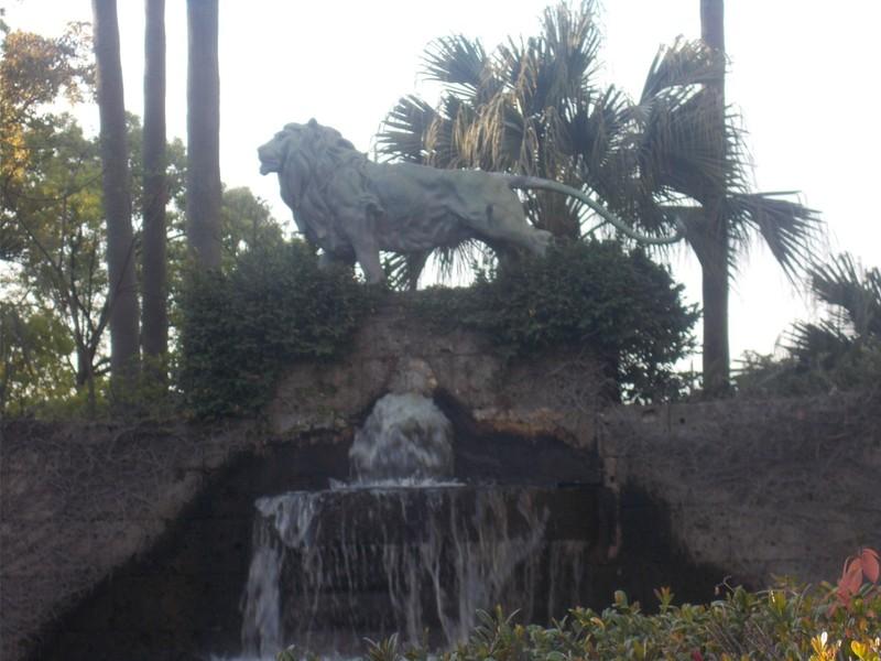 Lion Fountain.