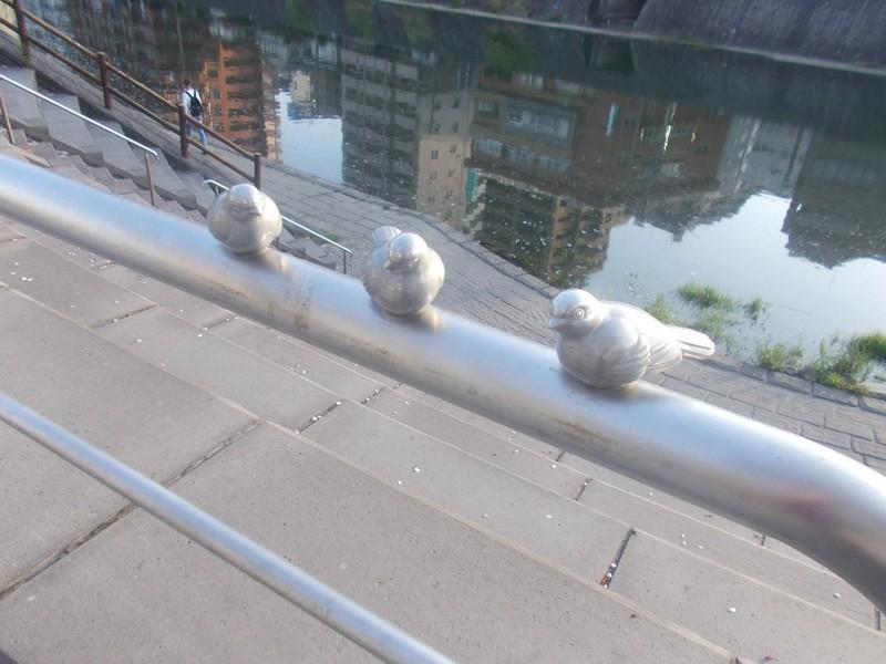 Bird Statues.