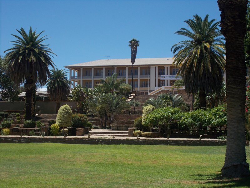 The Namibian Parliament.