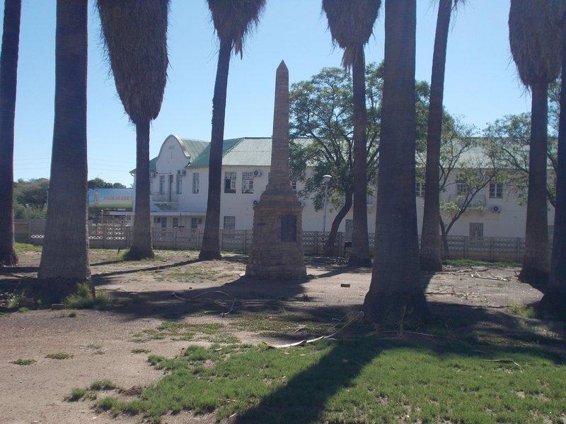 Owambo Campaign Memorial.