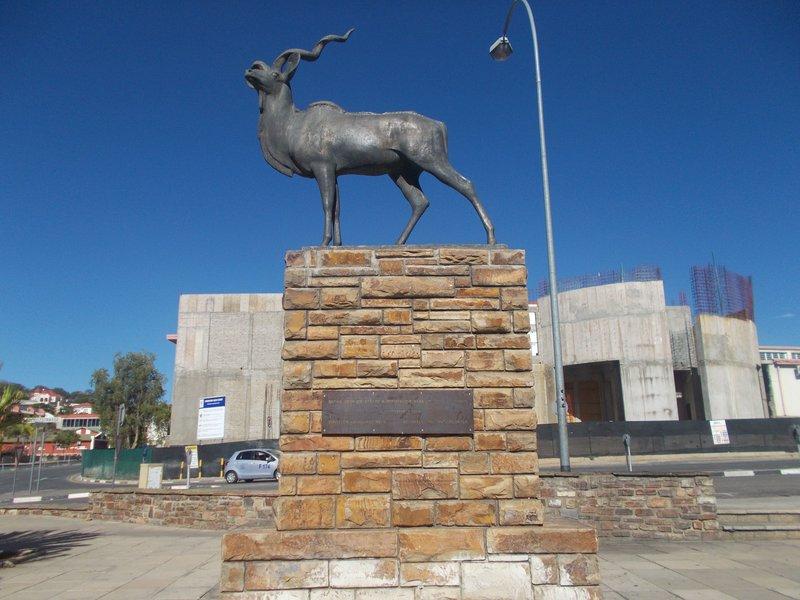 Kudu Statue.
