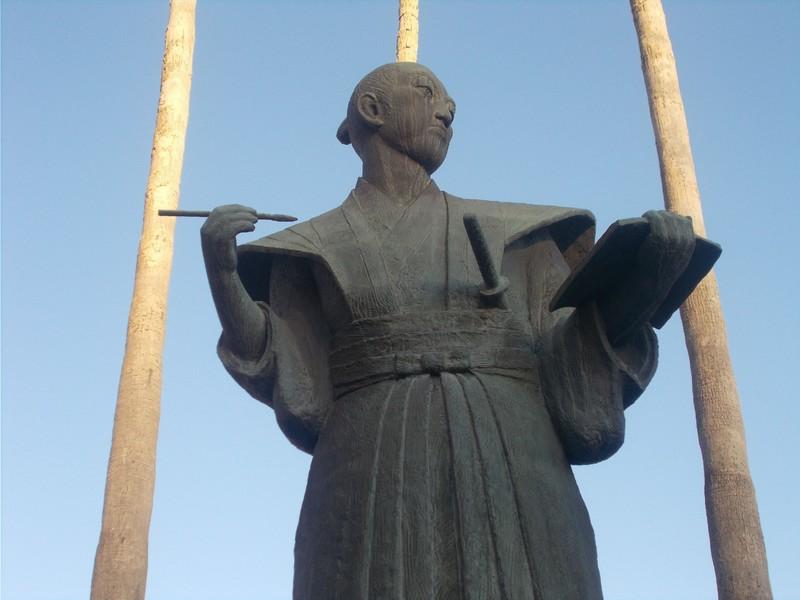 Statue of Komatsu Tatewaki.