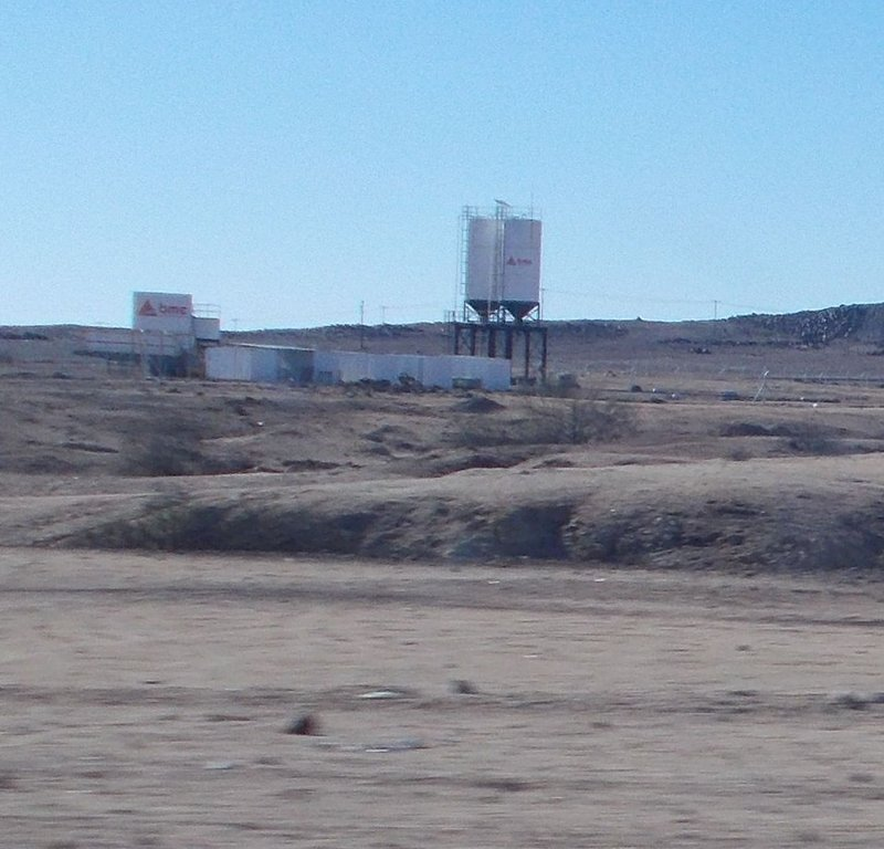 Uranium mine near Swakopmund.