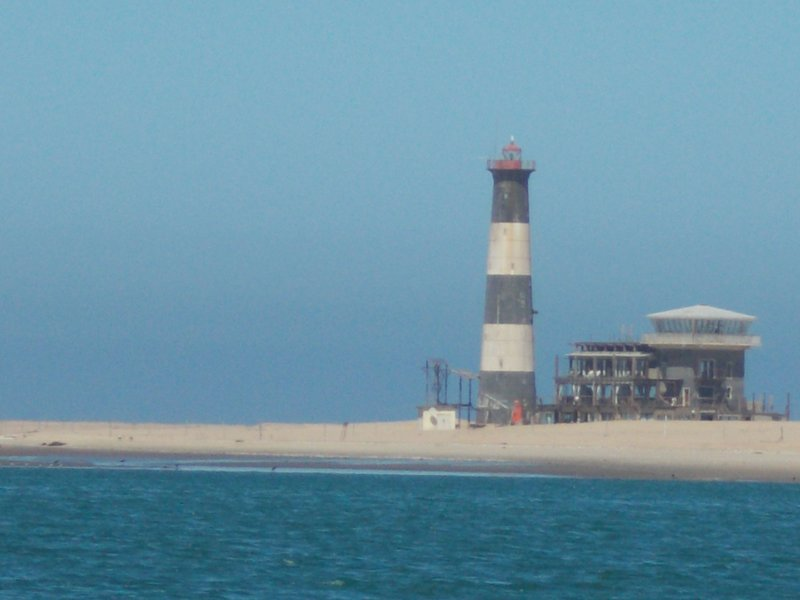 Pelican Point Lighthouse.