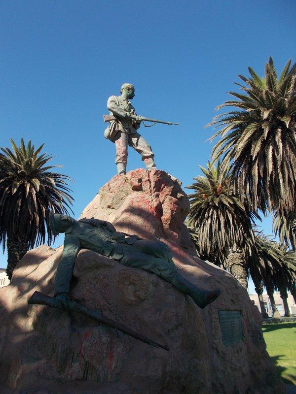 Marine Denkmal.