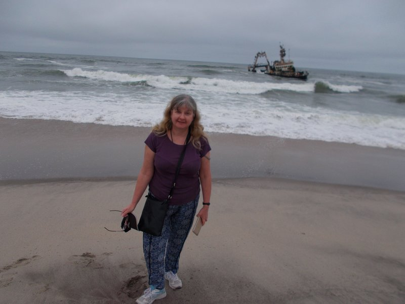 Me and the Zelia shipwreck.