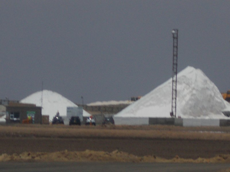 Salt Production in Walvis Bay.