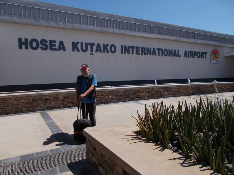 Hosea Kutako International Airport, Windhoek.