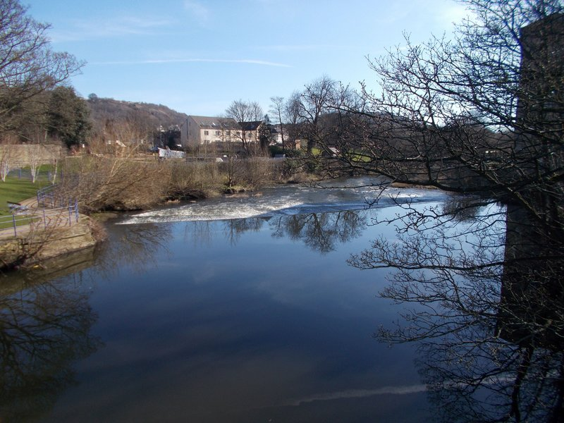 The River Aire.