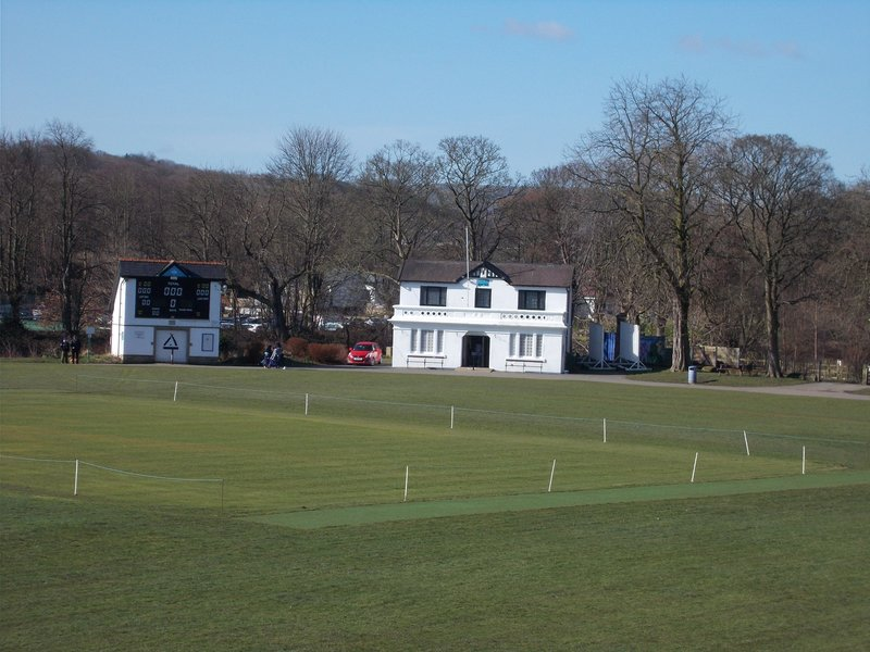Saltaire Cricket Ground.