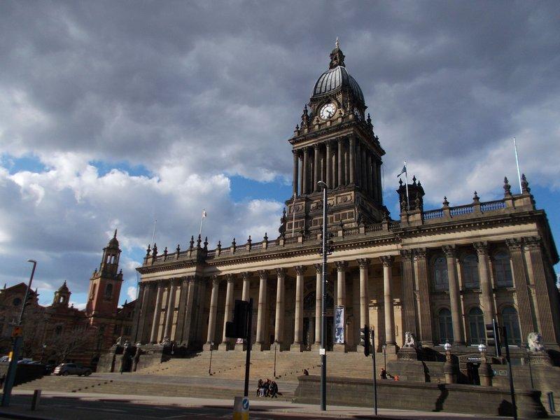 Leeds Town Hall.