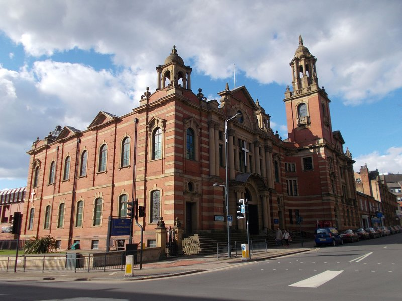 The Oxford Place Methodist Chapel.