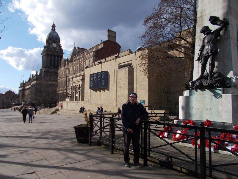 War memorial, Art Gallery and Library.