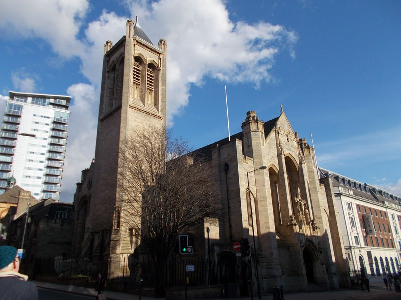 St Anne's Cathedral.