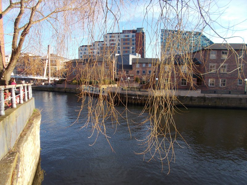 On the River Aire.