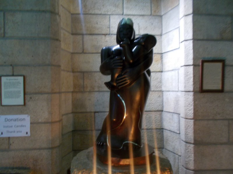 African Madonna.