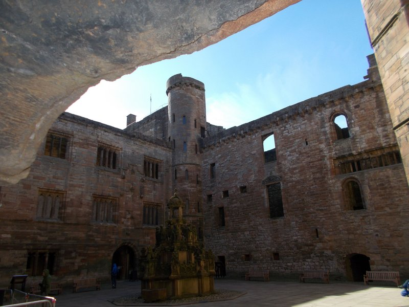 Palace Courtyard.