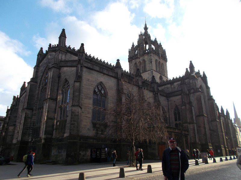 St Giles' Cathedral.