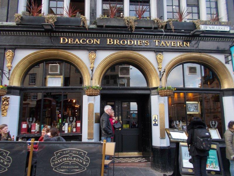 Deacon Brodie's Tavern.