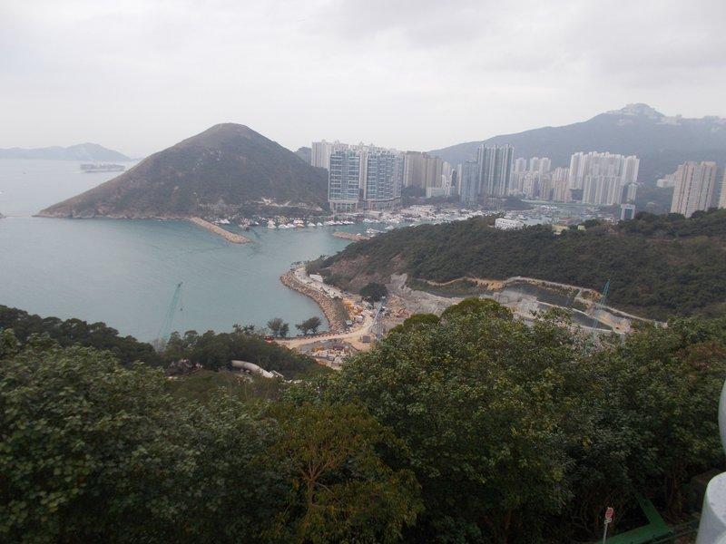 Views over Hong Kong.
