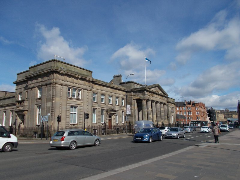 The Justiciary Courthouse.