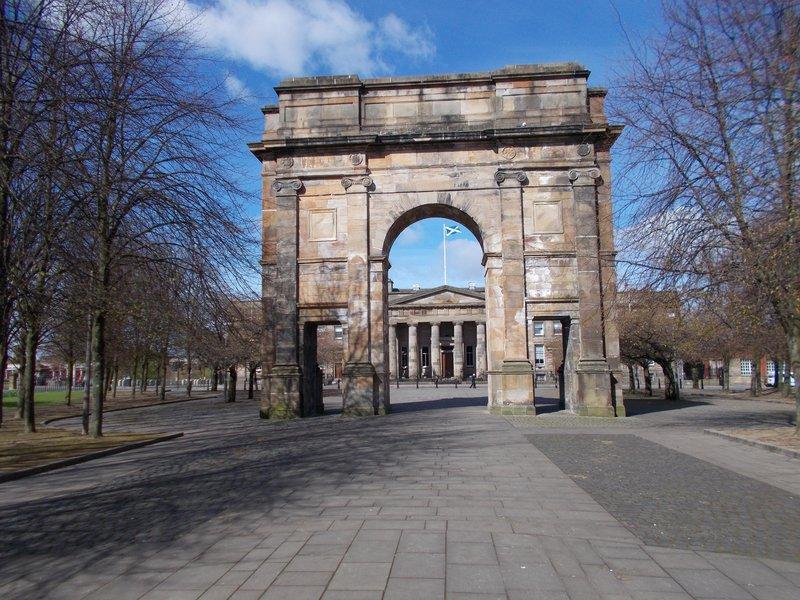 The McLennan Arch.