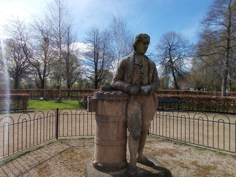 James Watt statue.