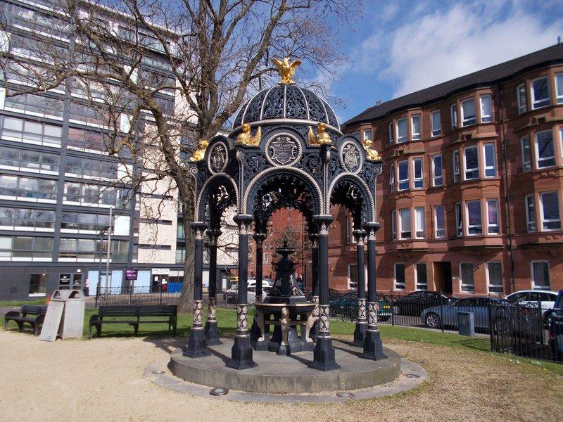 The James Martin Fountain.