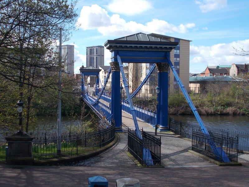 St Andrew's Suspension Bridge.
