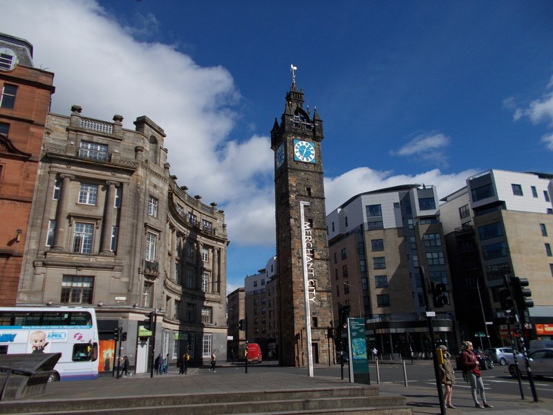 The Tolbooth Steeple.