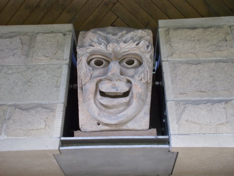 One of the Tontine Heads.