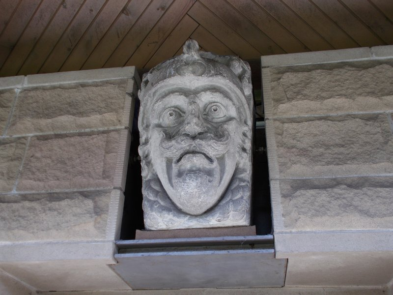Another of the Tontine Heads.