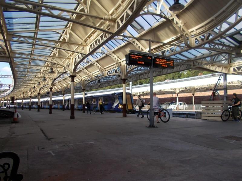 Wemyss Bay Station.