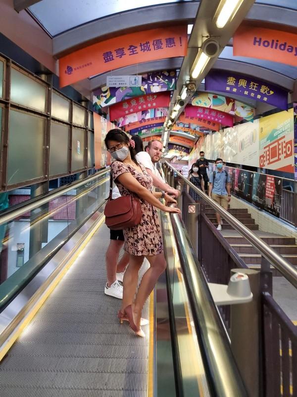 Escalator street.