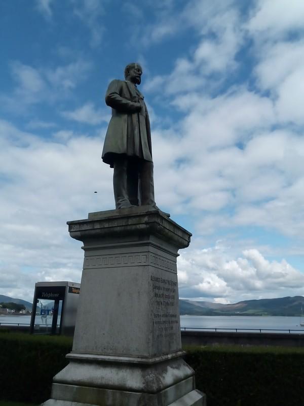Statue of Alexander Bannatyne Stewart.