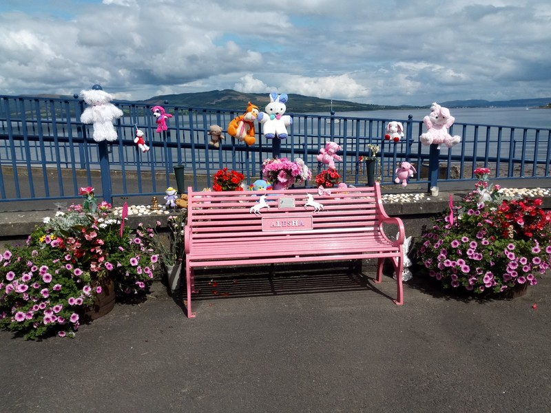 Bench for tragic Alesha.