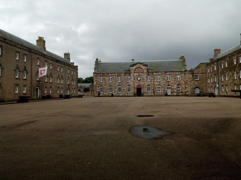 Berwick Barracks.
