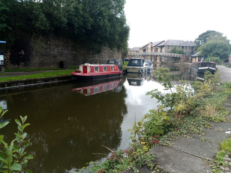 The Lancaster Canal.