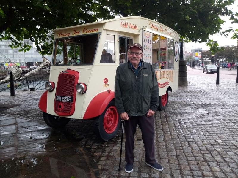 Ice-Cream Van.