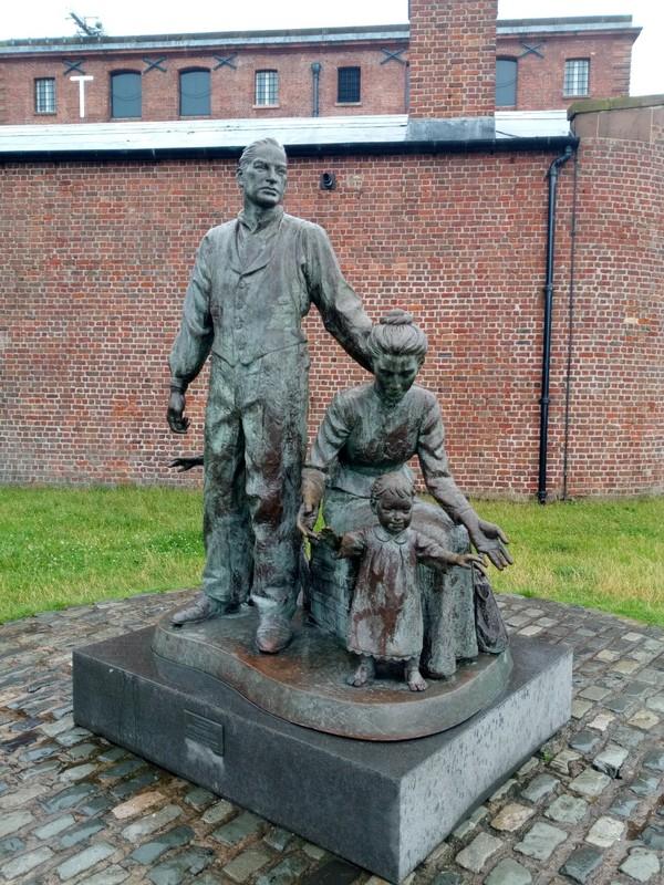 Immigrants Statue.